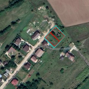 Teren constructii 673 mp Branesti, sat Pasarea